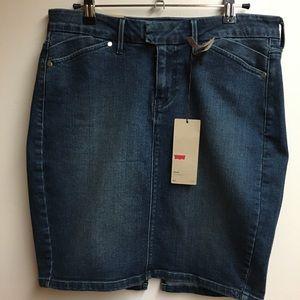 Levi's Blue Denim Skirt